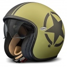 Casque Jet Premier Vintage Star Military BM
