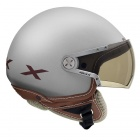 Casque Jet Nexx X60 Rap Gris Marron