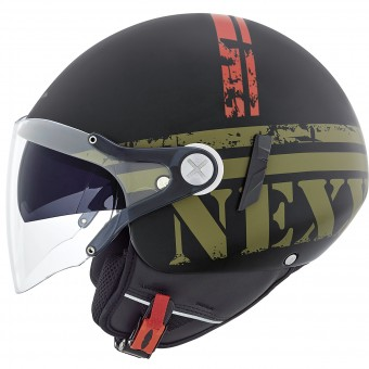 Casque Jet Nexx X60 Vision Flex Mission Military Green