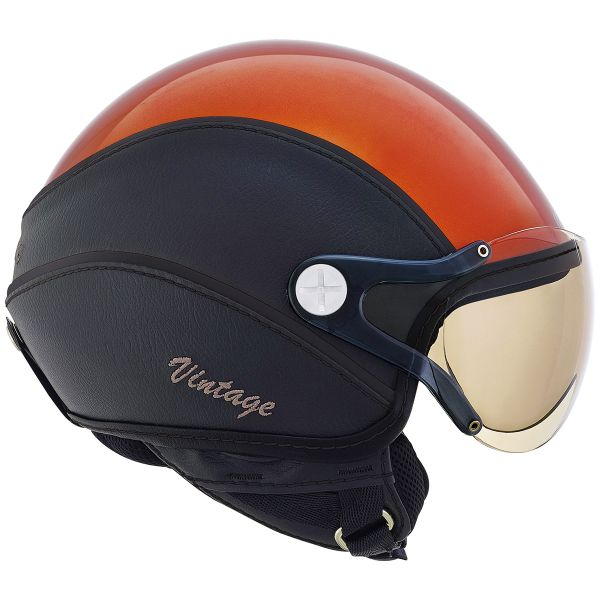 Casque Jet Nexx X60 Vision Vintage Orange