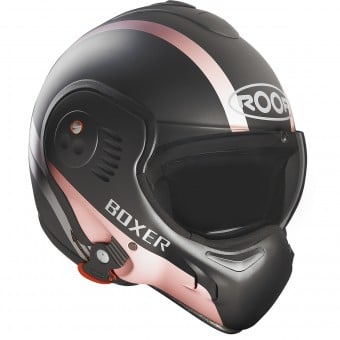 Casque Modulable Roof Boxer V8 Manga Graphite Mat Rose