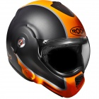 Casque Modulable Roof Desmo Flash Graphite Orange Fluo Mat