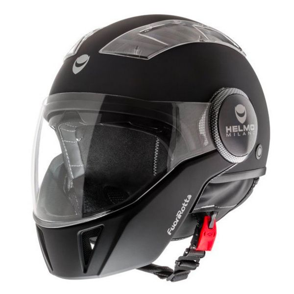 Casque Modulable Helmo Fuorirotta Black Matt