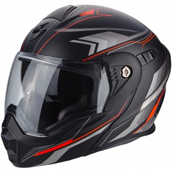 Casque Modulable Scorpion ADX-1 Anima Matt Black Red
