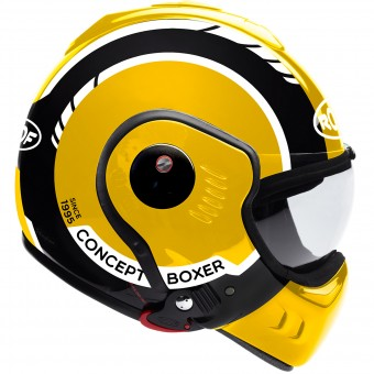 Casque Modulable Roof Boxer V8 LP20 Black Yellow White