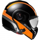 Casque Modulable Roof Boxer V8 Manga Noir Orange Mat