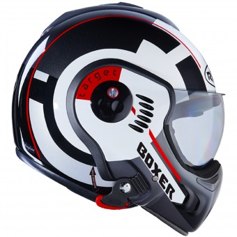 Casque Modulable Roof Boxer V8 Target White Black Red