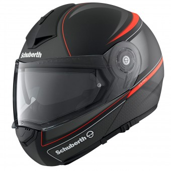Casque Modulable Schuberth C3 Pro Dark Classic Orange