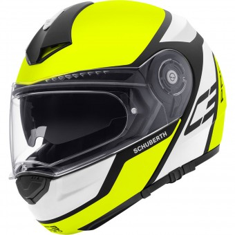 Casque Modulable Schuberth C3 Pro Echo Yellow