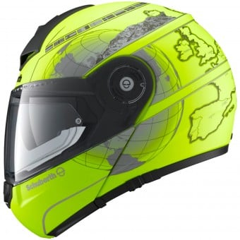 Casque Modulable Schuberth C3 Pro Europe Yellow Fluo