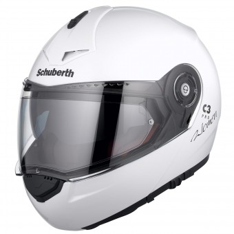 Casque Modulable Schuberth C3 Pro Lady Blanc