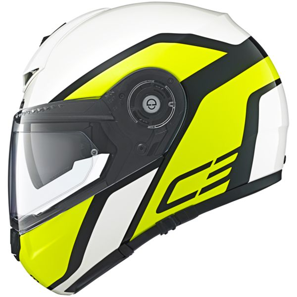 Casque Modulable Schuberth C3 Pro Observer Yellow