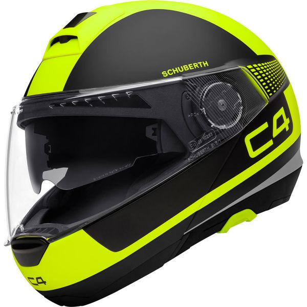 Casque Modulable Schuberth C4 Legacy Yellow