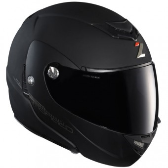 Casque Modulable Lazer Monaco Pure Glass Noir Mat
