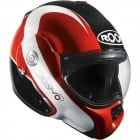 Casque Modulable Roof Desmo Elico Noir Rouge