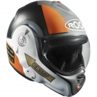 Casque Modulable Roof Desmo Pilot Noir Orange Mat