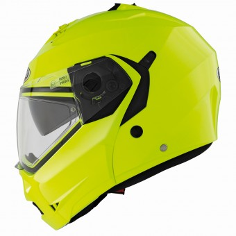 Casque Modulable Caberg Duke Hi-Vizion Yellow
