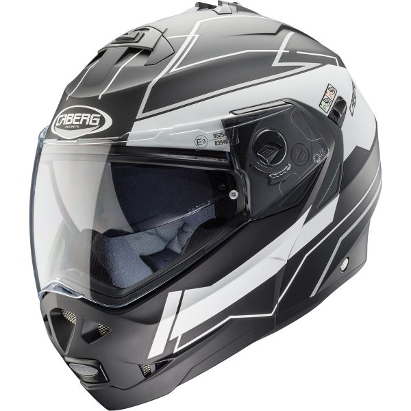 Casque Modulable Caberg Duke II Gravity Matt Black White