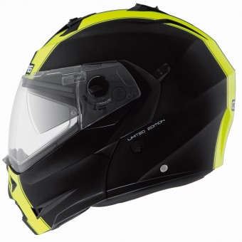 Casque Modulable Caberg Duke Legend Matt Black Yellow