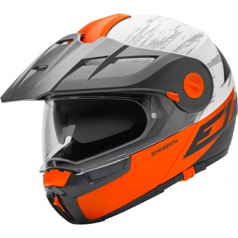 Casque Modulable Schuberth E1 Crossfire Orange