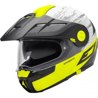 Casque Modulable Schuberth E1 Crossfire Yellow