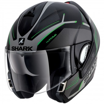 Casque Modulable Shark Evoline Serie 3 Hataum Mat KSG