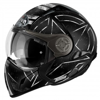 Casque Transformable Airoh J106 Command Black Matt