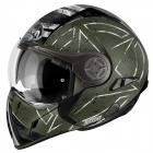 Casque Transformable Airoh J106 Command Green Mat