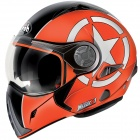 Casque Transformable Airoh J106 Shot Orange