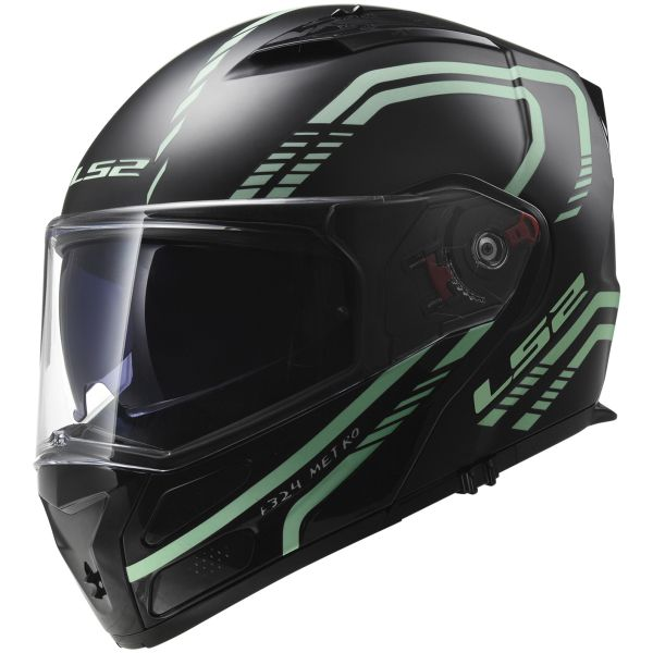 Casque Modulable LS2 Metro Firefly Black Light FF324