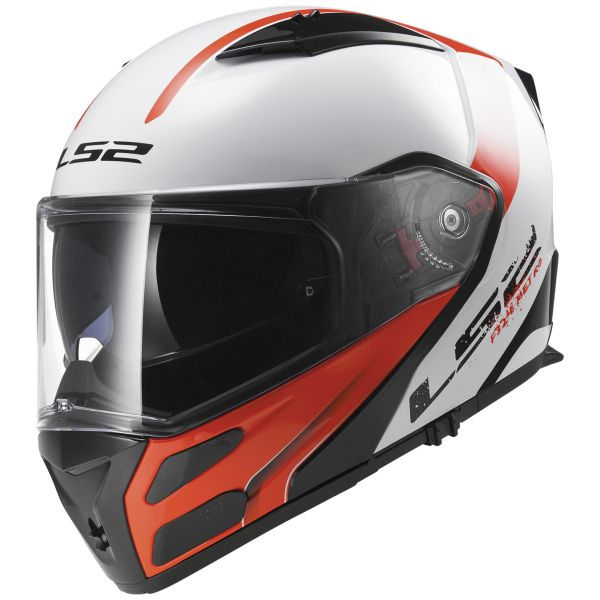 Casque Modulable LS2 Metro Rapid White Red FF324