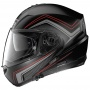 Casque Modulable Nolan N104 Absolute Como N-Com Flat Black Red 47