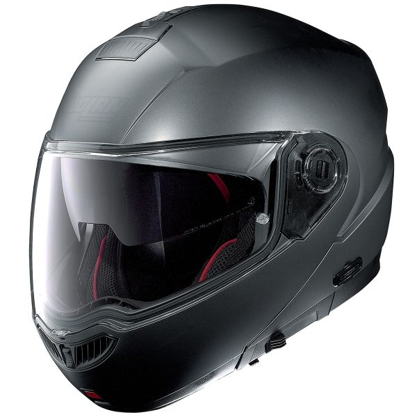 Casque Modulable Nolan N104 Absolute Fade N-Com Flat Anthracite 60