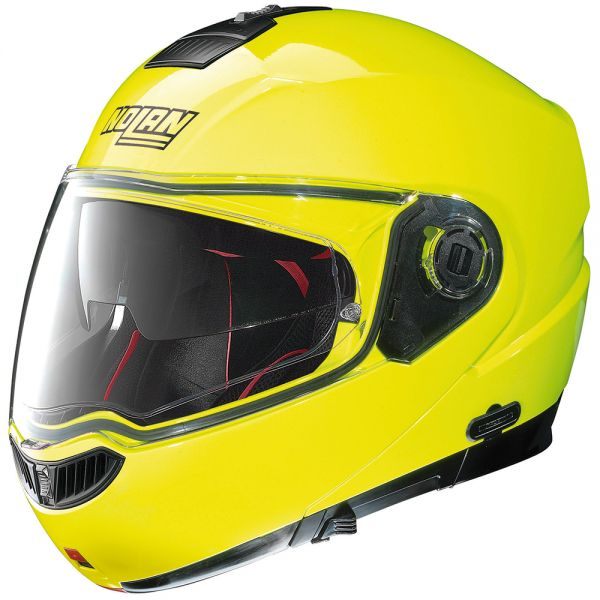 Casque Modulable Nolan N104 Absolute Hi-Visibility N-Com Fluo Yellow 22