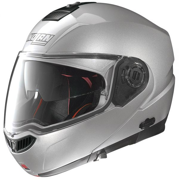Casque Modulable Nolan N104 Absolute Special N-Com Salt Silver 11
