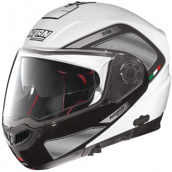Casque Modulable Nolan N104 Absolute Tech N-Com White 28