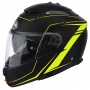 Casque Modulable Airoh Phantom Lead Yellow Matt