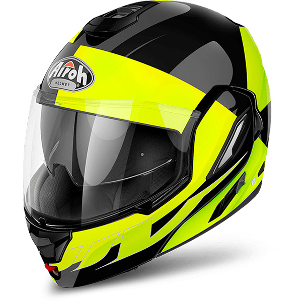 Casque Modulable Airoh Rev Fusion Yellow