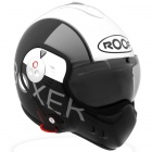 Casque Modulable Roof Boxer V8 Graphic Blanc Nacr�