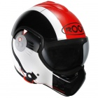 Casque Modulable Roof Boxer V8 Star Noir Rouge