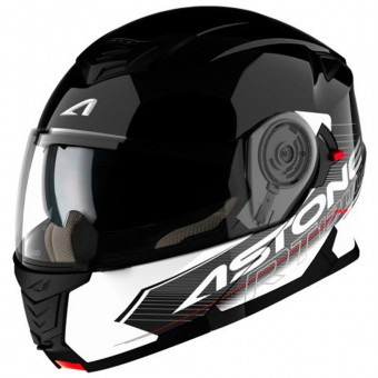 Casque Modulable Astone RT 1200 Touring Black White