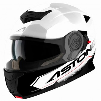 Casque Modulable Astone RT 1200 Touring White Black