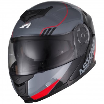 Casque Modulable Astone RT 1200 Upline Red Grey