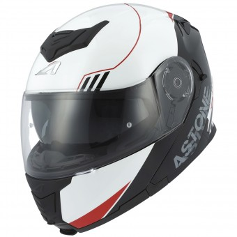 Casque Modulable Astone RT 1200 Upline Red White