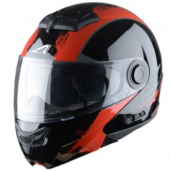Casque Modulable Astone RT 800 Venom Black Red