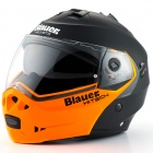 Casque Modulable Blauer Sky Noir Mat Orange