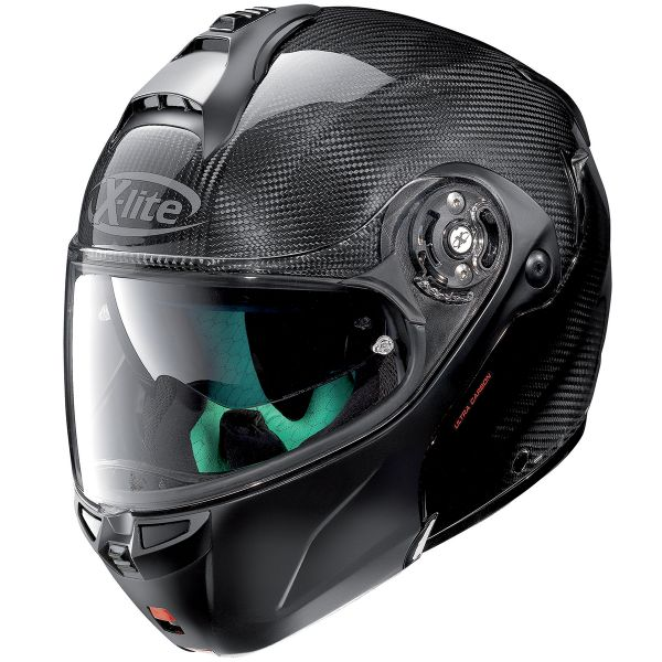 Casque Modulable X-lite X-1004 Ultra Carbon Dyad Black 1