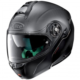 Casque Modulable X-lite X-1004 Ultra Carbon Dyad Flat Black 2