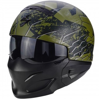 Casque Transformable Scorpion Exo Combat Ratnik Matt Green