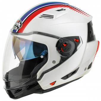 Casque Transformable Airoh Executive Stripes White